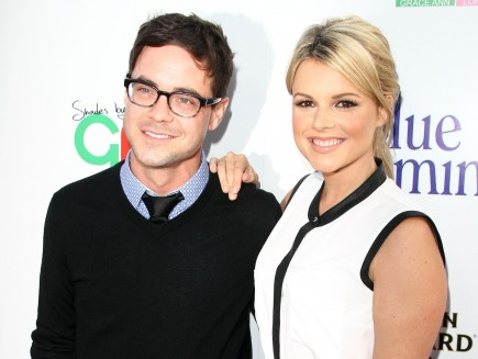 Kevin Manno and Ali Fedotowsky. Photo: Juan Rico/FAMEFLYNET PICTURES