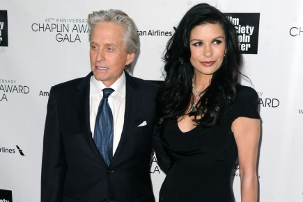 Michael Douglas and Catherine Zeta-Jones. Photo: AAR/FAMEFLYNET PICTURES