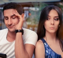 Dating Advice Q&A: Is He Hiding Something When He Turns His Phone Off?