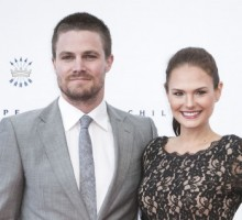 Celebrity Couple: Stephen Amell Marries Cassandra Jean for the Second Time
