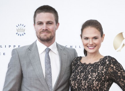 Stephen Amell and Casandra Jean. Photo: SGP/FAMEFLYNET PICTURES