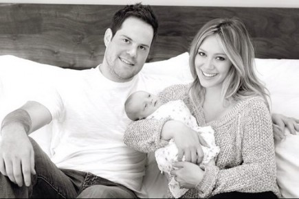 Celebrity Couples, Hilary Duff, Mike Comrie, Marriage, Family & Children
