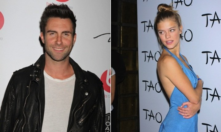 Cupid's Pulse Article: Celebrity Couple: Adam Levine Dating Nina Agdal Go Public With Their Relationship