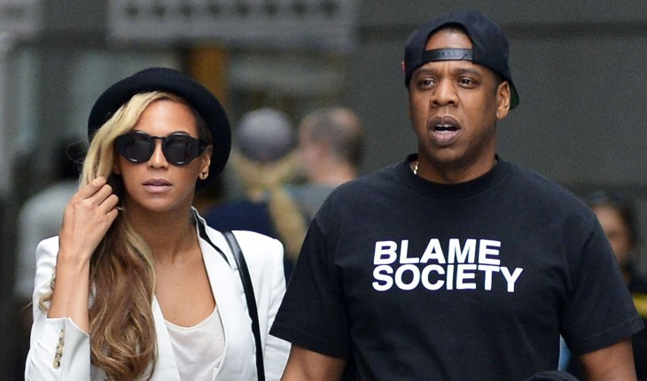 Beyonce Knowles and Jay-Z. Photo: Teach/Moryc Welt/FAMEFLYNET PICTURES