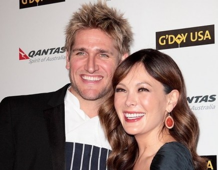 Curtis Stone and Lindsay Price. Photo: Tina Gill / PR Photos