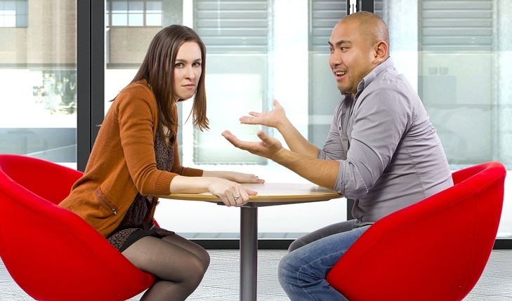 Disputing couple. Photo: Innovated Captures / Bigstock.com