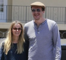Jason Segel Steps Out with New Girlfriend Bojana Novakovic