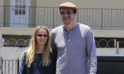 Bojana Novakovic and Jason Segel. Photo: FAMEFLYNET