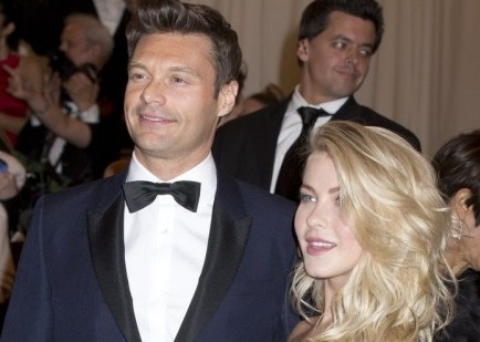 Ryan Seacrest and Julianne Hough. Photo: Janet Mayer / PRPhotos.com