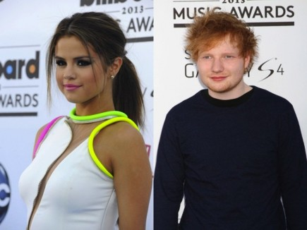 Cupid's Pulse Article: New Couple: Selena Gomez is Hooking Up with Ed Sheeran