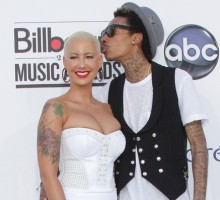 Wiz Khalifa and Amber Rose Tie the Knot