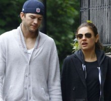 Celebrity Couple: Mila Kunis Introduces Ashton Kutcher to Her Parents in London