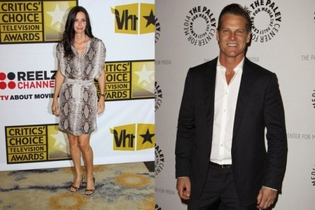 Courteney Cox and Brian Von Holt. Photo: Andrew Evans / PR Photos; Emiley Schweich / PR Photos