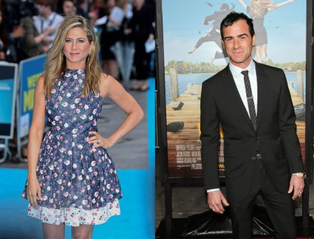 Jennifer Aniston and Justin Theroux. Photos: Landmark / PR Photos; Andrew Evans  / PR Photos