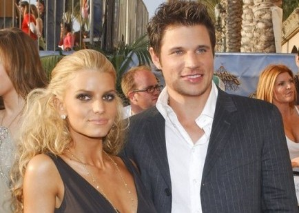 Jessica Simpson and Nick Lachey. Photo: Albert L. Ortega / PR Photos