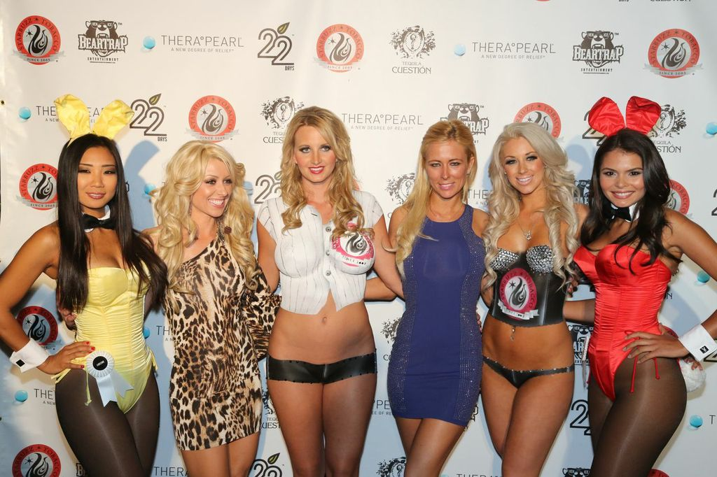 Playboy Playmates on the red carpet. Photo:  BRANDed Management
