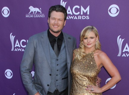 Blake Shelton and Miranda Lambert. Photo: FPA/FameFlynet Pictures