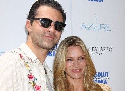 Darius Campbell and Natasha Henstridge. Photo: PRN / PR Photos
