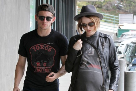 Jamie Bell and Evan Rachel Wood. Photo: Goodwin/FAMEFLYNET PICTURES