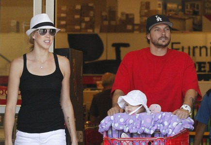 Kevin Federline and Victoria Prince. Photo: FAMEFLYNET