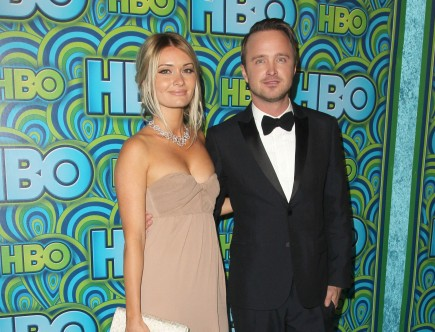 celebrity couples, Lauren Parsekian, Aaron Paul, Breaking Bad