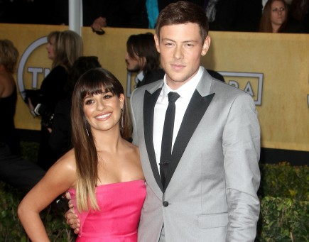 celebrity couples, Lea Michele, Cory Monteith