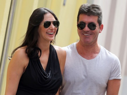celebrity couples, Lauren Silverman, Simon Cowell, Baby