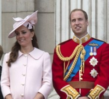 Prince William and Kate Middleton Attend Church Without Prince George