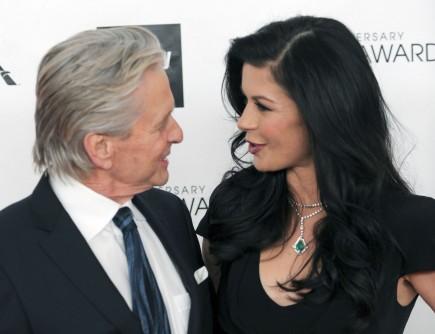 celebrity couples, Michael Douglas, Catherine Zeta-Jones
