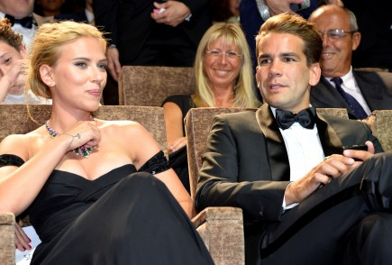celebrity couples, Scarlett Johansson, Romain Dauriac