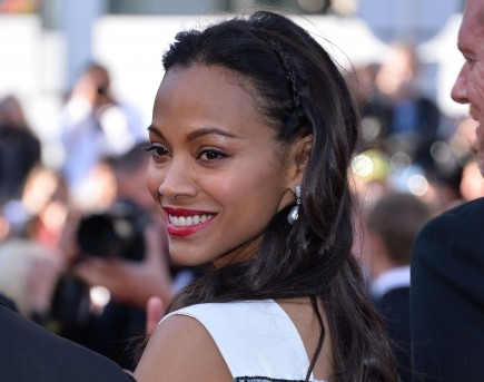 celebrity couples, Zoe Saldana, marriage