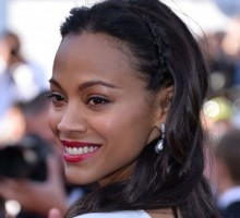 Zoe Saldana Hides Wedding Ring at First Event Since Marriage
