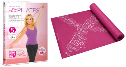 Cupid's Pulse Article: Giveaway: Celebrate Breast Cancer Awareness Month with Gaiam!