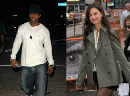 Cupid's Pulse Article: Jamie Foxx Denies Rumors Dating Katie Holmes