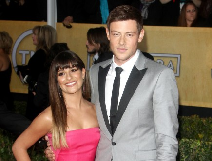 Cupid's Pulse Article: Source Says Lea Michele 'Talks About Cory All the Time'