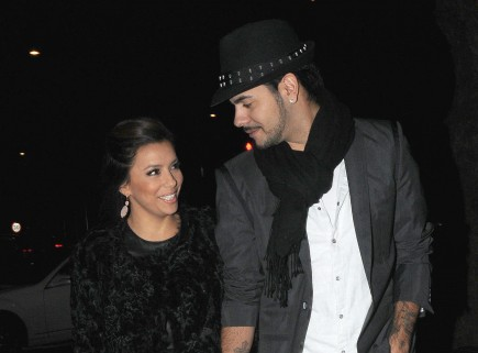 Cupid's Pulse Article: Eva Longoria and Eduardo Cruz Attend Burlesque Show