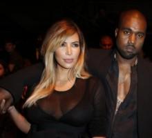 Kanye West Displays His Love for Kim Kardashian
