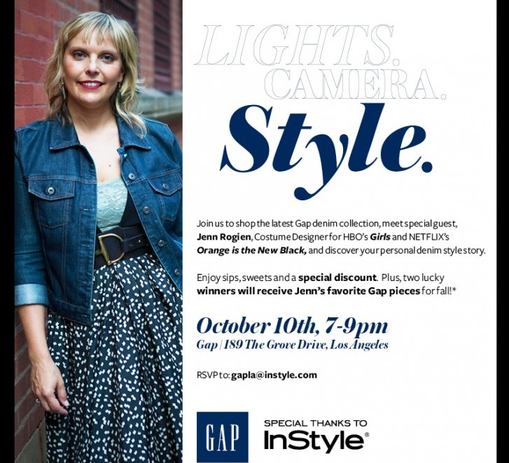 Cupid's Pulse Article: InStyle Insider: Lights. Camera. Style. Event