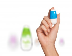One flirty flavor of the hello breath sprays is supermint.