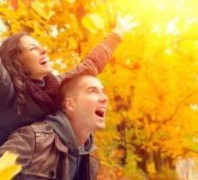 Date Idea: Fall in Love with Falling Leaves
