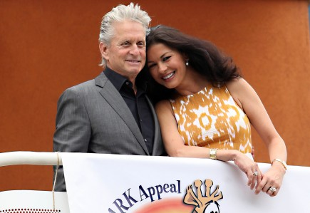 Michael Douglas and Catherine Zeta-Jones. Photo: Barcroft/FAMEFLYNET PICTURES