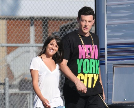 celebrity couples, Lea Michele, Cory Monteith, Kate Hudson