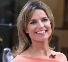 Surprise! Savannah Guthrie Is Married and Pregnant