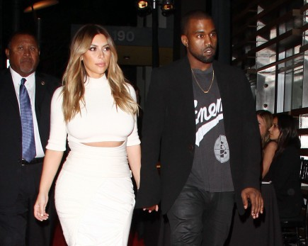 Cupid's Pulse Article: Kim Kardashian and Kanye West Buy His and Her Shoes