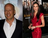 Demi Moore and Bruce Willis Barely Interact at Rumer Willis' Performance