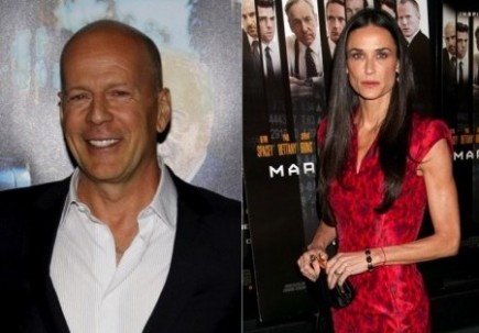 Bruce Willis and Demi Moore. Photo: David Gabber / PR Photos; Janet Mayer / PR Photos