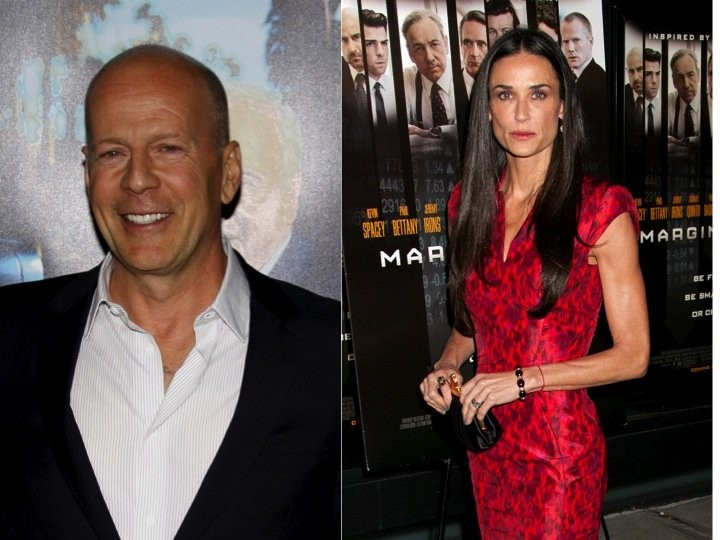 Cupid's Pulse Article: Demi Moore and Bruce Willis Barely Interact at Rumer Willis' Performance