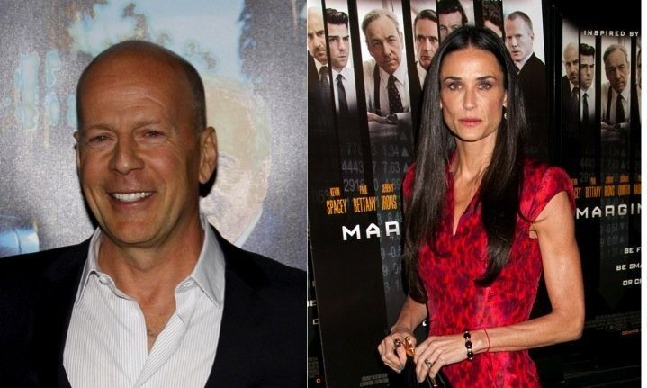 Cupid's Pulse Article: Celebrity Exes: Demi Moore Posts Epic Throwback Emmys Pic with Ex-Husband Bruce Willis