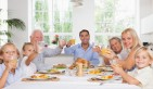 Family on Thanksgiving. Photo: Wavebreak Media Ltd / Bigstock.com
