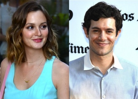 Cupid's Pulse Article: Leighton Meester and Adam Brody Walk First Post-Wedding Red Carpet